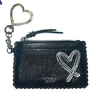 New*Victoria Secret Rose Gold Heart wallet Skinny